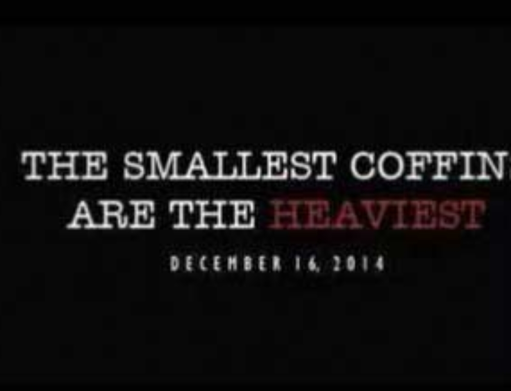 The Smallest Coffins Are The Heaviest