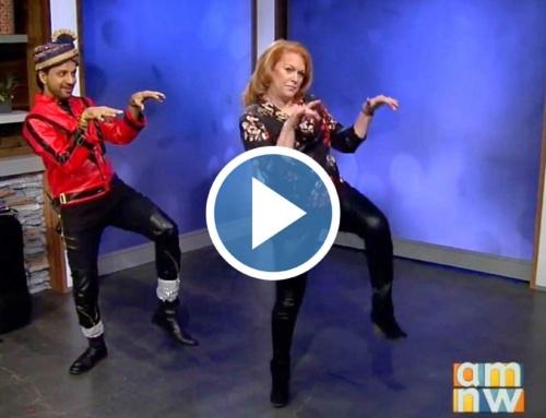 Bollywood Thriller Dance on KATU TV with DJ Prashant