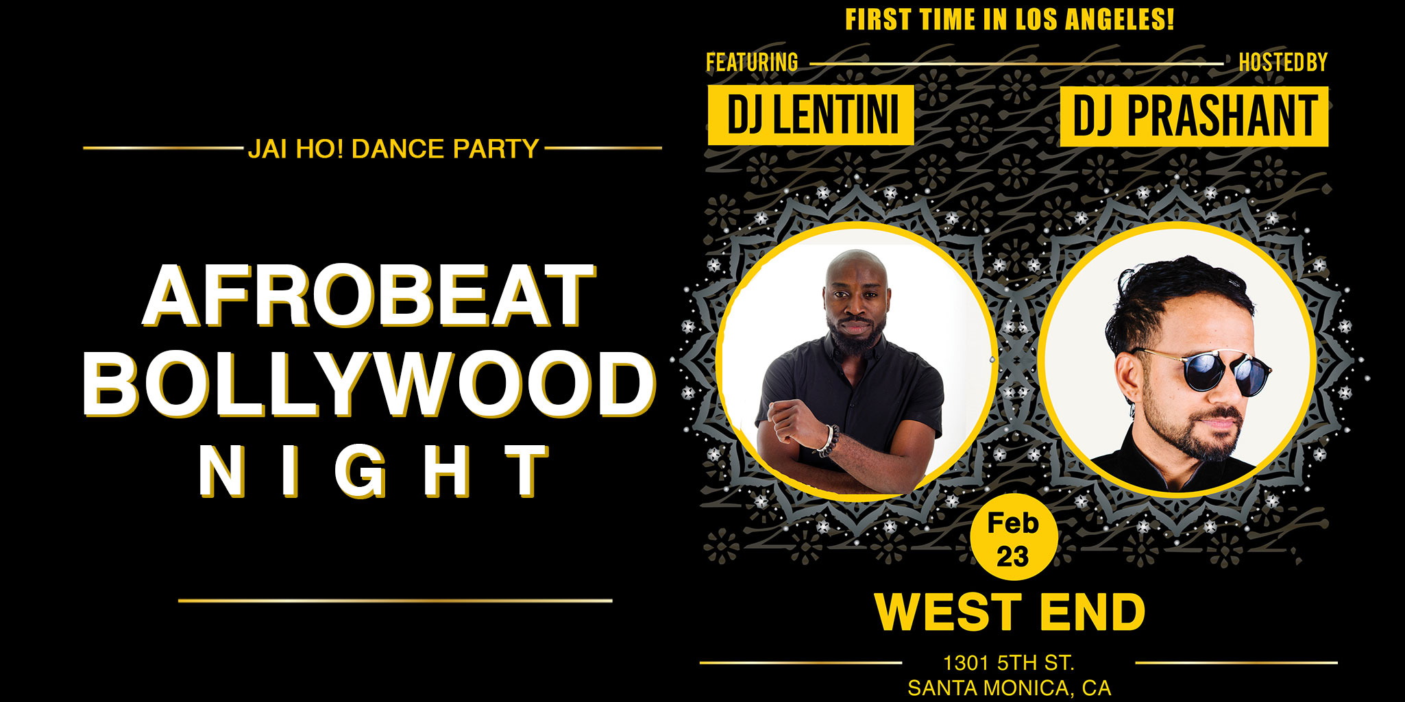 Los Angeles: Afrobeat Meets Bollywood Night Dance Party